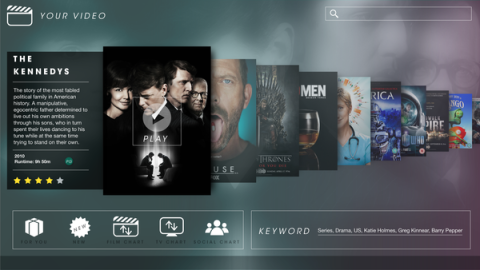 Waiting for Superior Smart TV User Interface Design