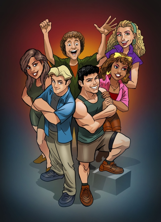 Older TV Shows 'Saved by the Bell,' 'Miami Vice' Finding New Audiences in Comicbook Form | Variety