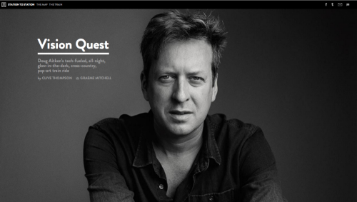 How the WIRED 'Vision Quest' Creates an Immersive Experience
