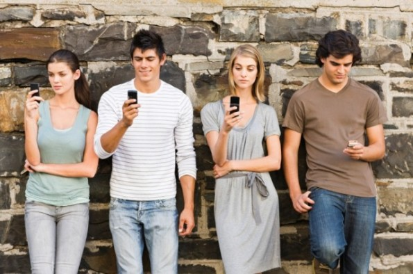 Millennials with Mobiles