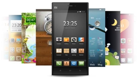 Xiaomi and Huawei smartphones