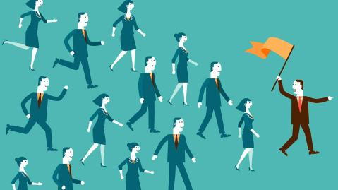 Content Marketing: Few Real Leaders and Visionaries