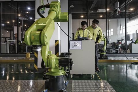Robotics Spending to Reach $125.4 Billion in Asia-Pacific