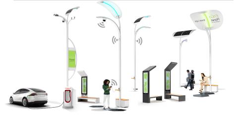 Smart Pole Revenue will Reach $1 Billion in 2022